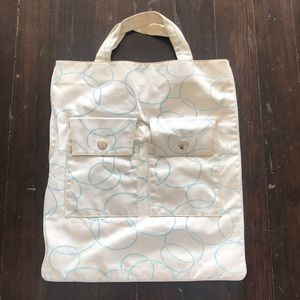 Marc Jacobs | Canvas Tote with 2 Front Pockets